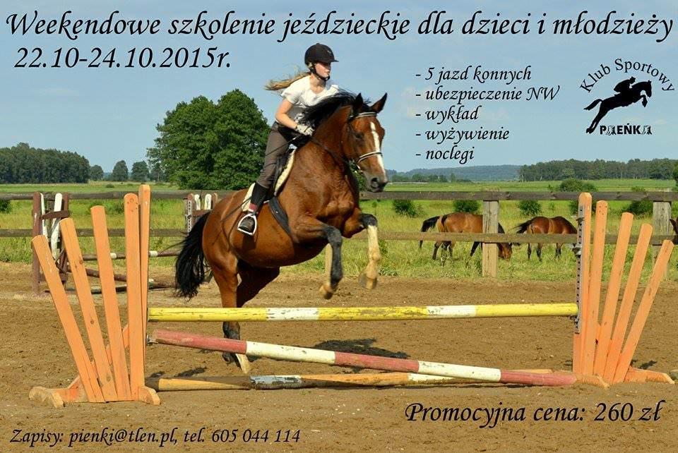 Szkolenie jeździeckie 23-25.10.2015r.