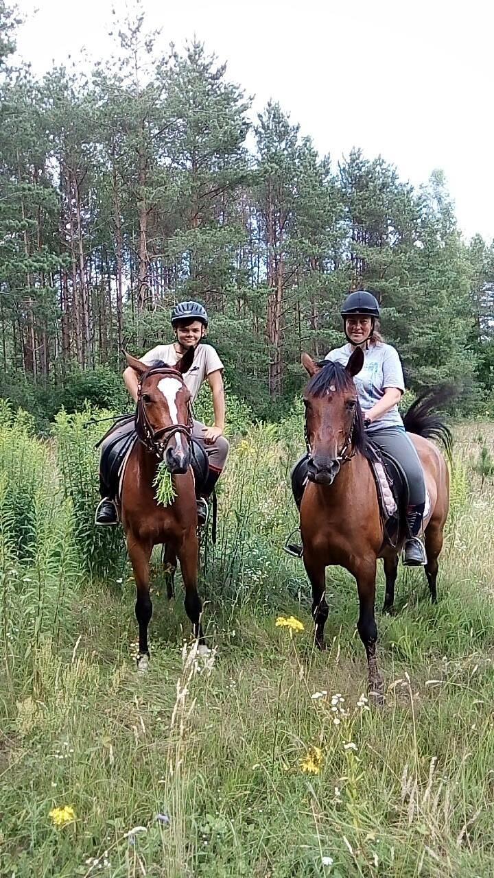 Obóz jeździecki dla rodzin z dziećmi